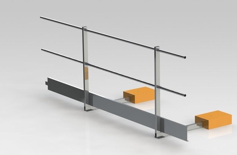 Barandillas de aluminio a medida svelt materiales para - Barandilla de aluminio ...