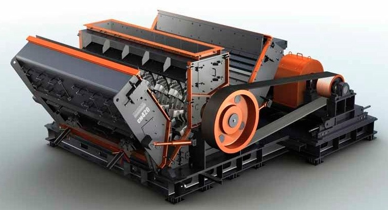 Hammer crushers Sandvik CM420 - Hardware - Hammer crushers