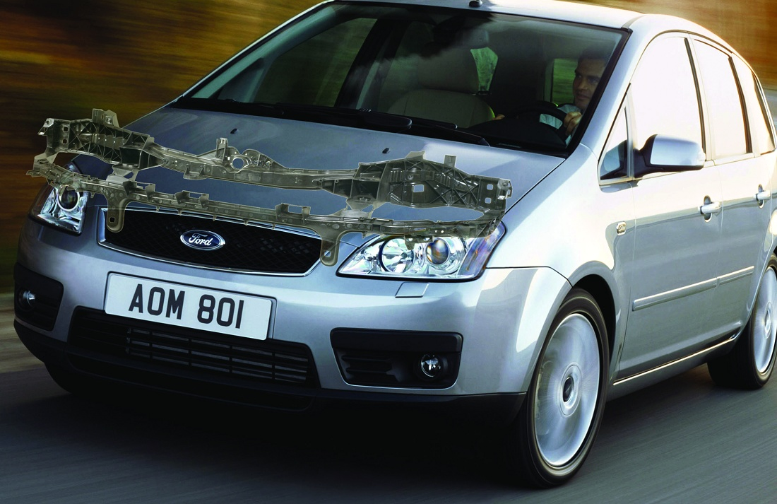 "Foto de ""Técnica híbrida para front end de Ford"""