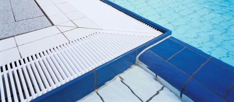 Rejillas para piscinas emco 720 limpieza e higiene for Rejillas para piscinas
