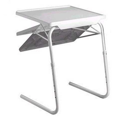 mesa auxiliar plegable multiusos garhe flexy envase y