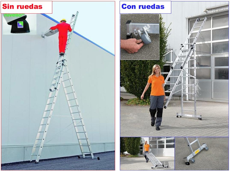 Escaleras multiusos wak gama pro obras p blicas for Escalera multiusos
