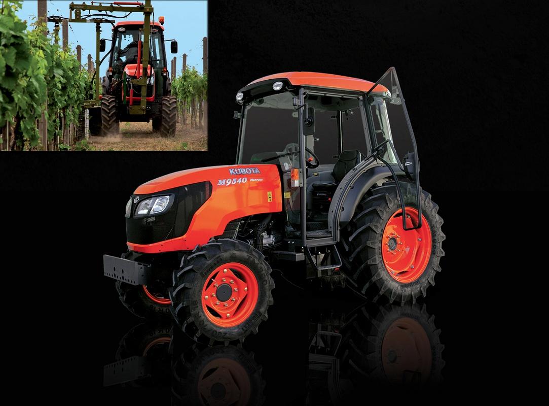Tractores Estrechos Kubota M9540dtnarrow Agricultura Tractores - Estrechos