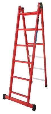 Escaleras aislantes fijas plegables ktl ferreter a - Escaleras metalicas plegables ...