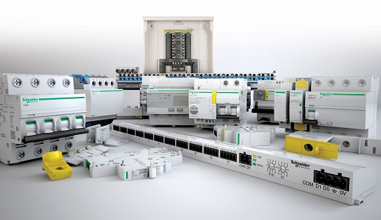 Modular systems of low tension Schneider Electric Acti 9 ...