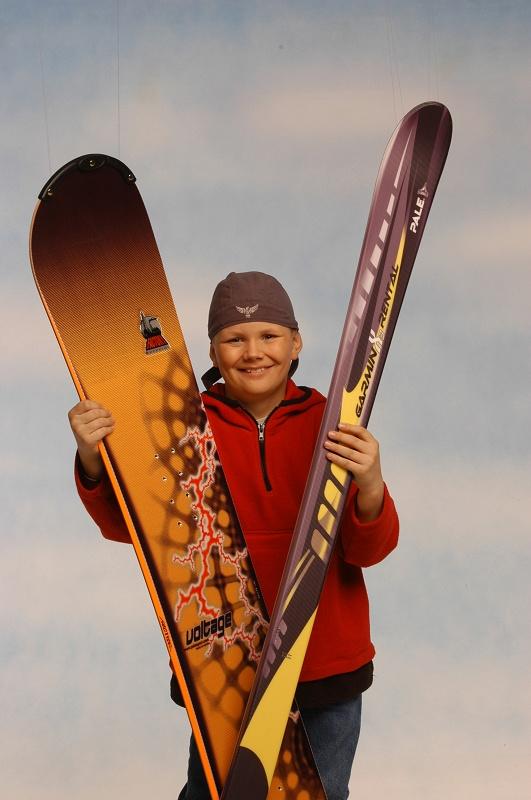 """Foto de """"Snowboards ultraligeros"""""""
