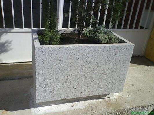 foto de jardineras de hormign arquitectnico - Jardineras De Hormigon