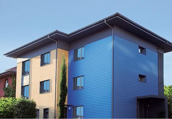 Perfiles para fachadas werzalit siding materiales para - Materiales de construccion para fachadas ...