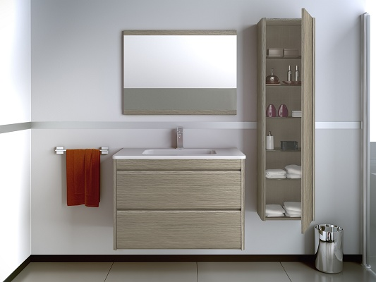 Muebles de ba o thais materiales para la construcci n Diseno muebles de lavabo