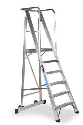 Escaleras de almac n plegable ktl 2xl ferreter a - Escaleras para almacen ...