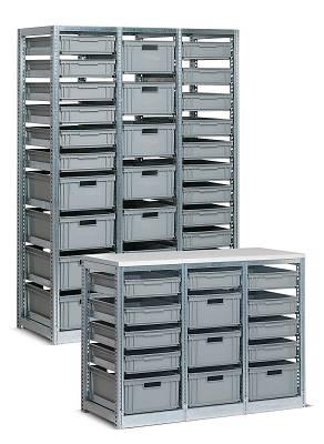 Estanter as met licas para cajas zeus y athena tr almacenaje y log stica estanter as - Estanterias metalicas de diseno ...
