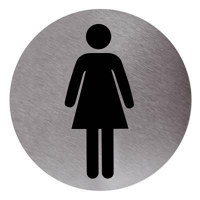 Cartel ba o mujer adhesivo ferreter a cartel ba o mujer adhesivo - Cartel bano ...