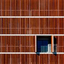 Celosias de madera gradhermetic gradpanel serie cl mad for Celosias en madera