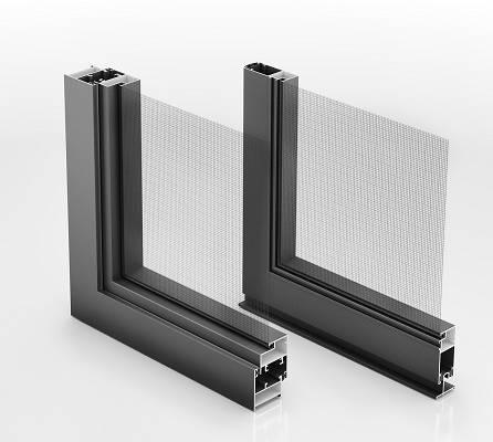 Mosquiteros de aluminio thermia mq22 materiales para la for Mosquiteros de aluminio
