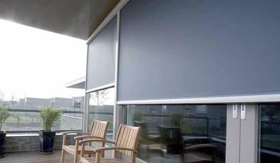 Estores para exteriores saxun materiales para la for Materiales para cubiertas exteriores