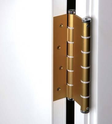 Bisagras de doble acci n de aluminio justor da aluminio - Bisagras puertas metalicas ...