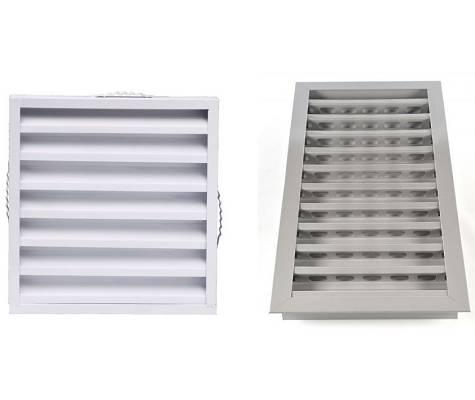 Rejillas de ventilaci n climatizaci n e instalaciones - Rejilla ventilacion aluminio ...