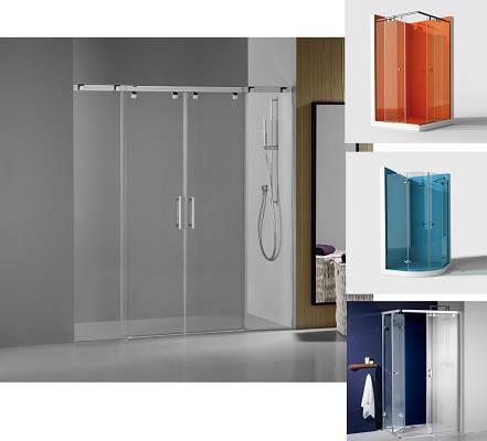 Mamparas de ba o y ducha materiales para la construcci n - Mamparas de ducha de diseno ...