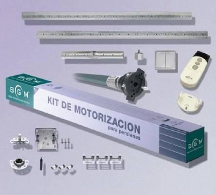 Kit motorizaci n para persiana v a cable bgm m80 for Kit de persianas