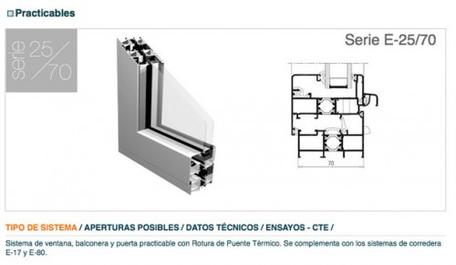 perfiles de aluminio para ventanas balconeras y puertas