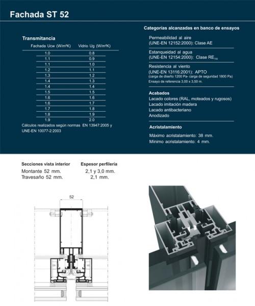 Fachada st 52 materiales para la construcci n fachada - Materiales de construccion para fachadas ...