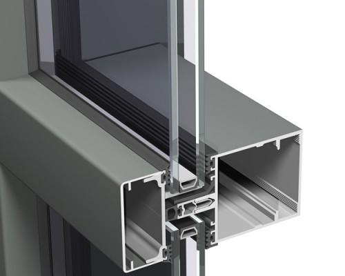 perfiles de aluminio reynaers cw 60 ferreter a perfiles de aluminio. Black Bedroom Furniture Sets. Home Design Ideas