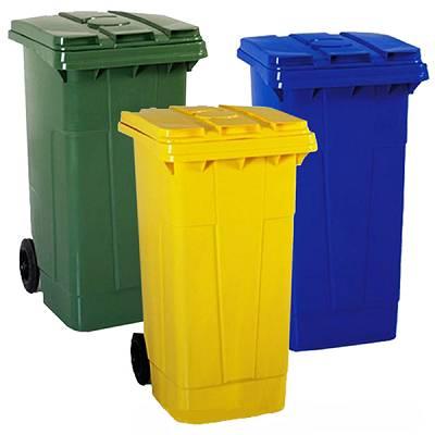 Carros basureros 96 kg mart n contenedores mbas240l - Contenedores de reciclar ...