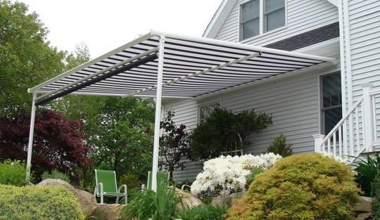 Toldos y techos para barandillas bat giotto plus - Materiales para toldos ...