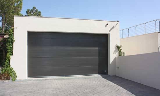 puertas de garaje enrollables roma - toldos, persianas y protección