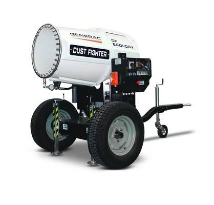 Nebulizadores de agua generac dust fighter df 5000 obras for Nebulizadores de agua