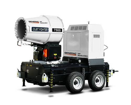 Nebulizadores de agua generac dust fighter df 7500 mpt for Nebulizadores de agua