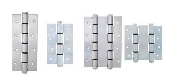 Bisagras de simple y doble acci n de hierro justor sa - Bisagras puertas metalicas ...