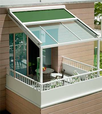 Toldos dise ados para verandas siplan teras materiales - Materiales para toldos ...