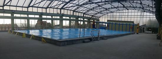 Cobertores para piscinas piscinas spas y saunas - Cobertores de piscina ...