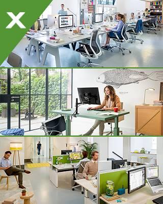 Equipamiento ergon mico para oficinas dataflex for Oficina virtual bankia particulares