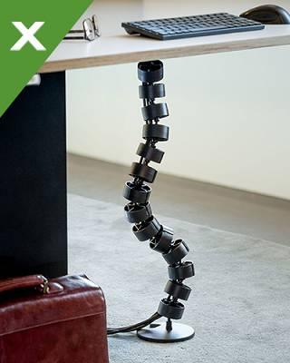Organizadores de cables dataflex equipamiento para for Equipamiento para oficinas