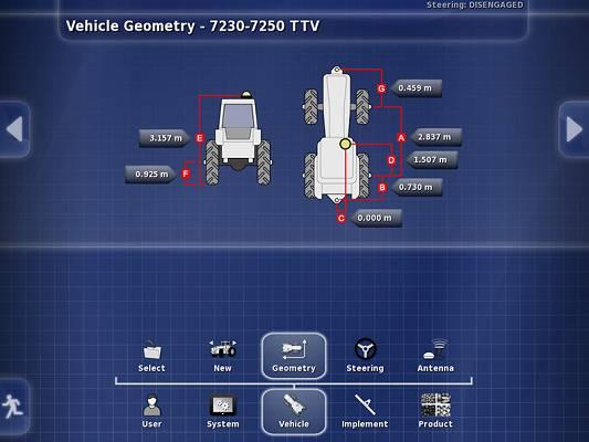 Foto de Control por satélite de tractores y aperos