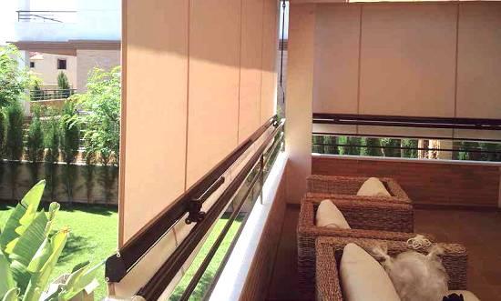 Toldos para balcones y ventanas novelty tel n for Toldos de lona para balcones