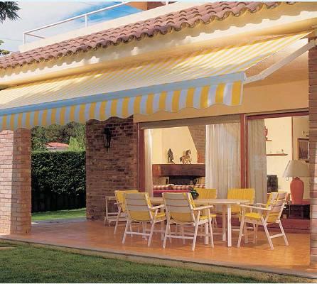 Toldos para terrazas novelty exclusive materiales para - Materiales de construccion para fachadas ...