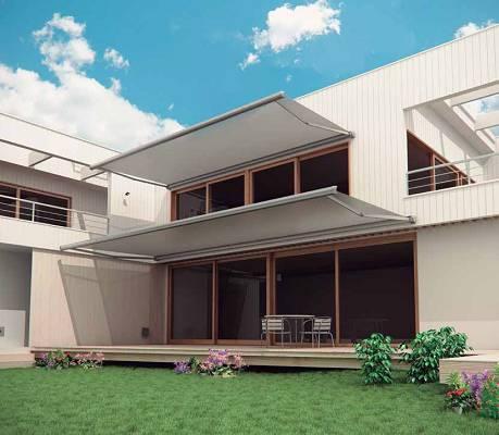 Toldos para terrazas novelty cofre novo materiales para for Toldo lateral para terraza