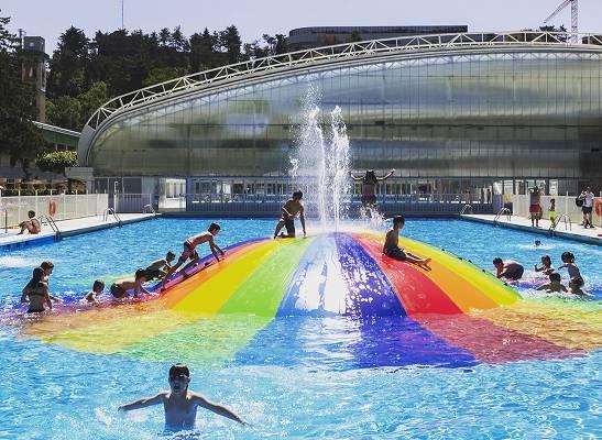 burbujas para piscinas isaba equipamiento urbano