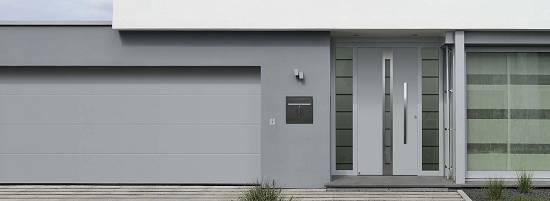 Puertas De Entrada De Aluminio Hormann Thermosafe Y Thermocarbon - Puertas-de-aluminio-fotos