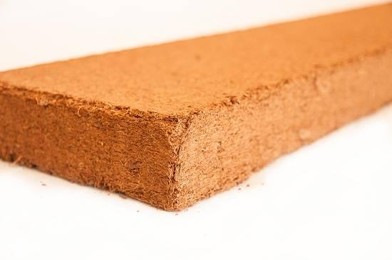 Foto de Tablas de fibra de coco para mejorado de suelos