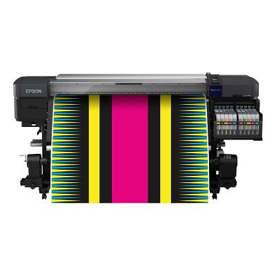 Foto de Impresora de sublimación con tinta fluorescente