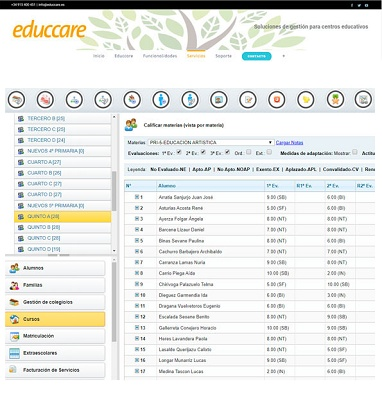 Foto de Plataforma web