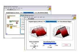 Software for design in CAD LabVIEW 8 Student - Plastics and
