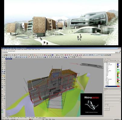 software para arquitectura rhinoceros 4 0 pl stico y