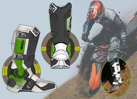 """Foto de """"Tecnología en unas botas de Motocross"""""""