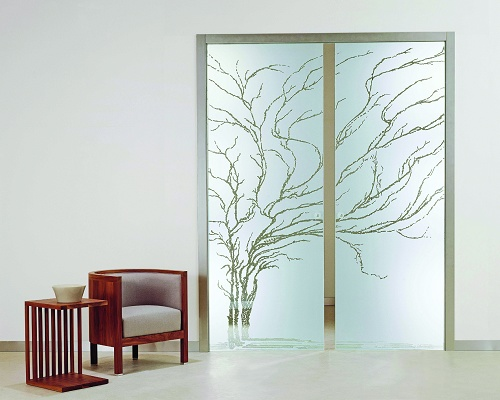 Puertas correderas de cristal casali cerramientos y - Puertas correderas madera y cristal ...