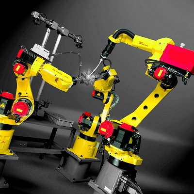 Robot of welding ARCMate 100iC - Storage and logistics